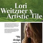 Lori Weitzner x Artistic Tile | The Artistic Digest | May 2019